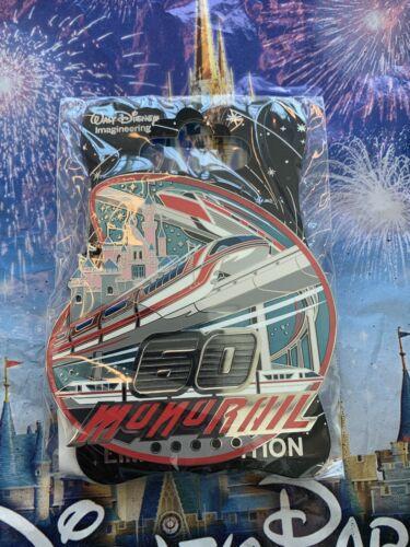 Disney D23 WDI MOG 60th Anniversary Monorail Pin LE 300 IN HAND