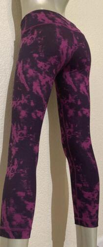 Lululemon Leggings Cropped Wonder Under Yoga Size