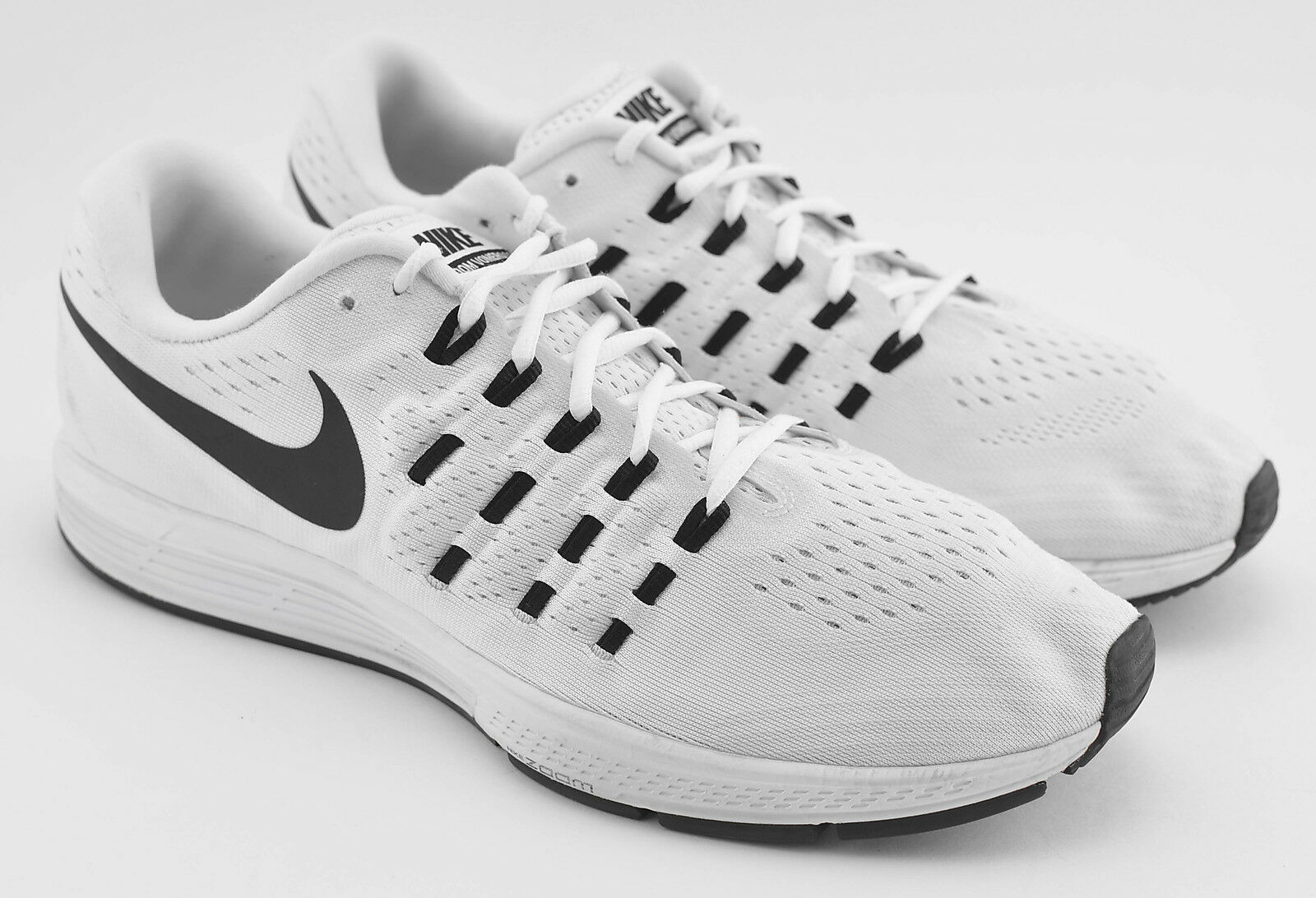 MENS NIKE ZOOM VOMERO 11 RUNNING SHOES SIZE 14 WHITE PURE PLATINUM 838646 100