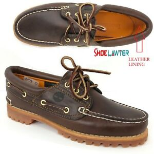 Details zu NEW! TIMBERLAND WOMEN'S HERITAGE NOREEN 3 EYE HANDSEWN BROWN BOAT SHOES 51304 US