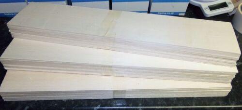 BALSA WOOD BARGAIN BUNDLE  LARGE PACK x 3 PACKS MODEL RAILWAY PROJECTS