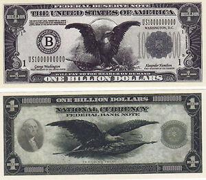 LOT OF 10  NOBAMA MONEY OBAMA NOVELTY MONEY WHOLESALE LOT TRILLION DOLLAR BILLS