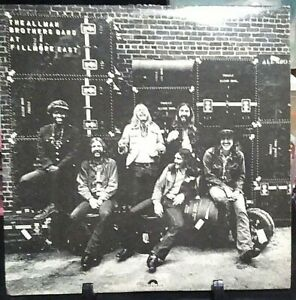 THE ALLMAN BROTHERS BAND At Fillmore East LIVE DOUBLE Album Released 1971 Vinyl