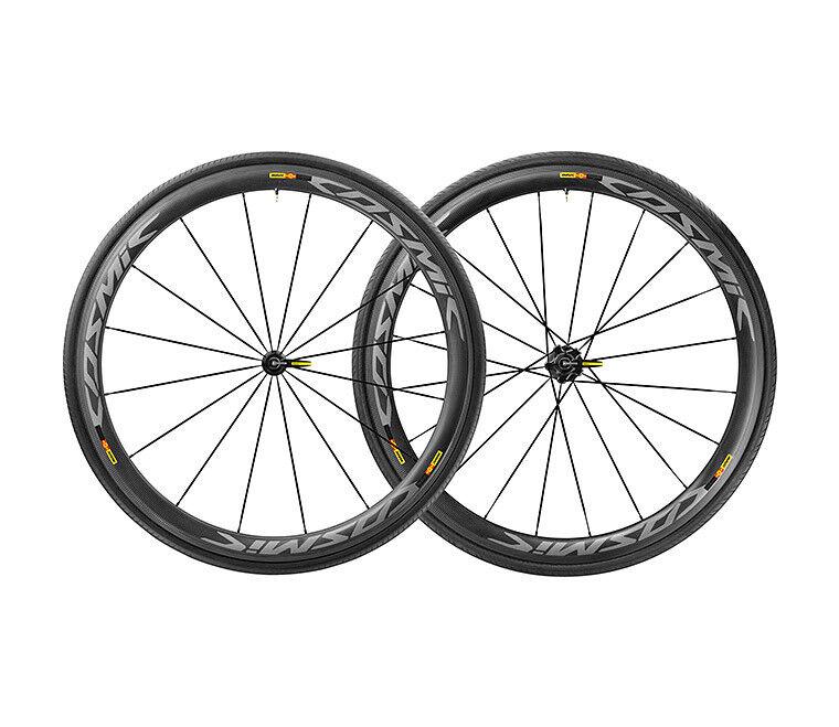 Wheels carbon Mavic Cosmic Pro SL T racing bicycle clincher road bike wheelset