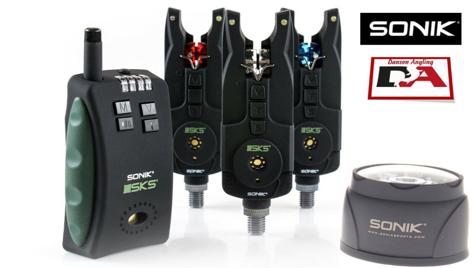Sonik SKS- alarm och mottagare med fri billy Light NY SKS3 ALARM