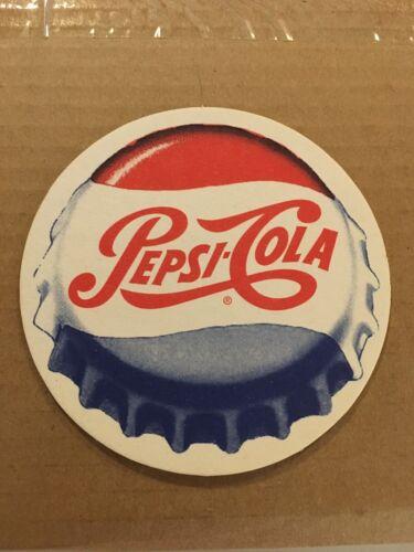 """8 Vintage 1960s-70s Pepsi Cola 4/"""" Coasters Unused"""