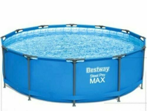 Bestway 56786 Swimming Pool 15FT x 48in Steel Pro Max Round 457 x 122cm