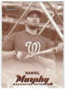 2017-Topps-Stadium-Club-Sepia-Parallel-257-Daniel-Murphy-Nationals