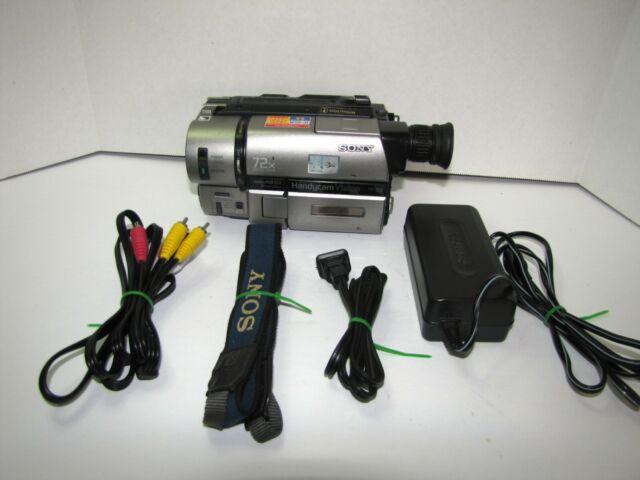 Sony Handycam CCD-TRV65 Camera NTSC Kit to Transfer 8mm Hi8 to PC/MAC/VCR/DVD