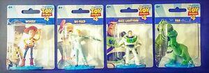 Disney-Toy-Story-4-Mini-Figures-Mattel-Woody-Buzz-Rex-Bo-Peep-Lot-of-4-NEW-cake