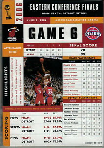MIAMI-HEAT-VS-DETROIT-2006-NBA-EASTERN-CONFERENCE-FINALS-GAME-6-DVD-NEW-COMPLETE