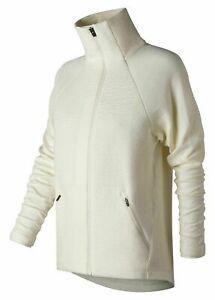 New-Balance-Women-039-s-M-Captivate-Asym-Jacket-off-White