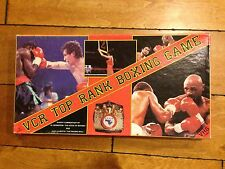 1987 VCR TOP RANK BOXING Game COMMENTARY BY JAKE LA MOTTA