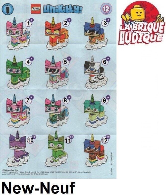 outlet in vendita Lego figurine minicifra sachet sachet sachet série series 1 Unikitty au choix 41775 NEUF  ti renderà soddisfatto