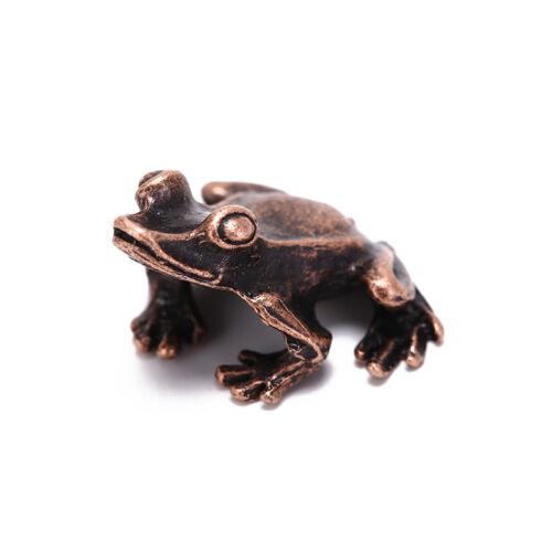alloy frog incense burner holder flower statue censer plate for sticks cone FB