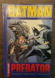 RARE-UK-TITAN-BOOKS-ED-Batman-VS-Predator-by-Andy-Kubert-Paperback
