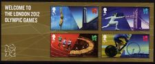 GB 2012 WELCOME TO LONDON OLYMPIC GAMES Mini Sheet SG MS3341 MNH