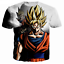 New-Women-Men-039-s-Dragon-Ball-Z-Vegeta-Goku-Super-Saiyan-3D-Print-Casual-T-Shirt thumbnail 3