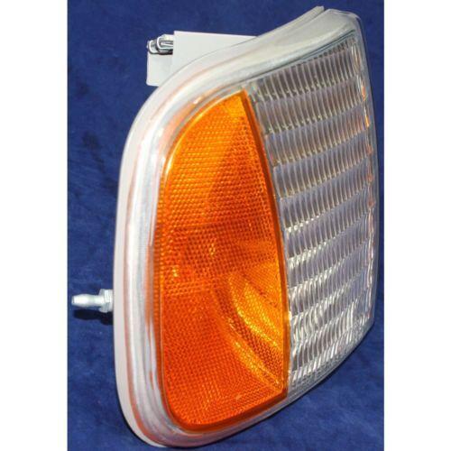 Clear and Amber Lens For F-150 97-03 CAPA Passenger Side Corner Light