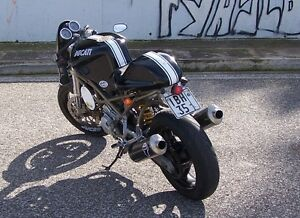 Image Is Loading Ducati Monster Cafe Racer Conversion Modification Tail Kit