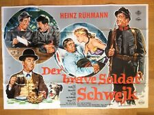 Brave Soldat Schwejk (A0-Kinoplakat '60) - Heinz Rühmann