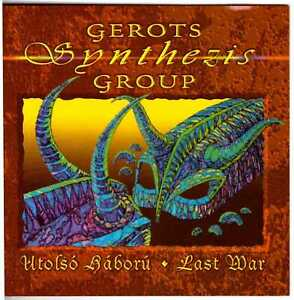 GEROTS-SYNTHEZIS-GROUP-Utolso-Haboru-Last-War-CD-Hungarian-Prog-Rock