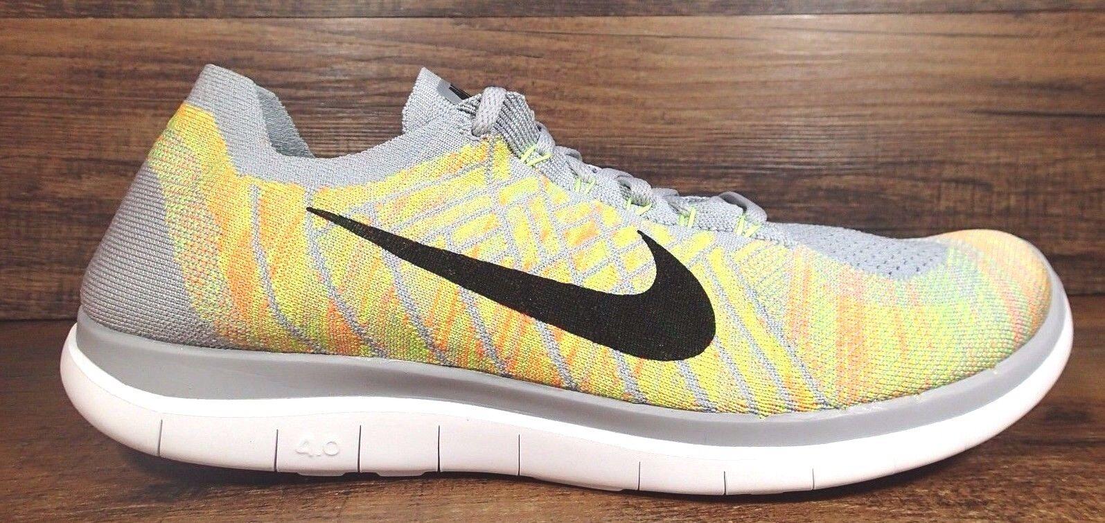 Nike Free Mens 4.0 Multicolores Chaussure De Course Flyknit Faits Saillants où puis-je commander Vente en ligne énorme surprise WP9FUL0