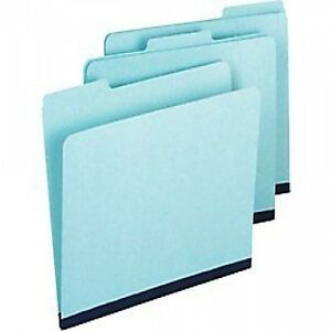 Smead-21530-Pressboard-File-Folders-Letter-3-Tab-Blue-25-Count-1-inch-expansion