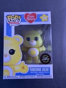 Funko Pop! Care Bears - Funshine Bear Chase Ed #356 Collectible Vinyl Figure