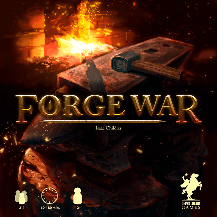MW  FORGE WAR 2ND PRINT BOARD GAME   CEPHALOFAIR GAMES
