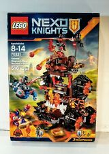 Nexo Knights 70321 General Magmar/'s Siege Machine of Doom Building Block Flama