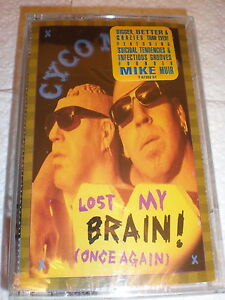 Cyco-Miko-CASSETTE-NEW-Lost-My-Brain-Once-Again