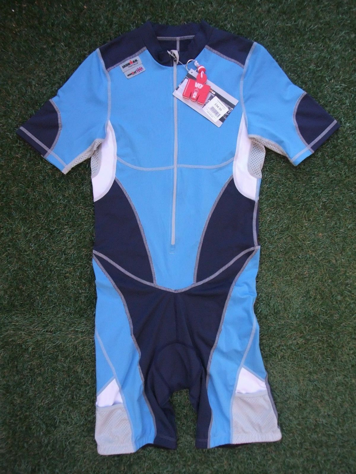 BNWT Ironman VO2 Max Triathlon Tri S Sleeved Speed Skin Suit Small  Cost