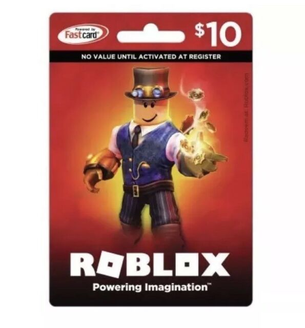 A Roblox Gift Card Physical Online 10 Dollar Value For Robux Fast Delivery Best - roblox game card for nintendo switch
