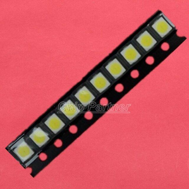 100pcs 3528 White LED Light Emitting Diode SMD Highlight