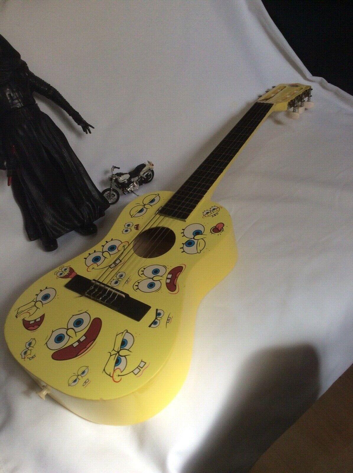 Spongebob Acoustic Guitar (Kiddies Junior)