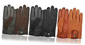 Ladies-Womens-Retro-Driving-Gloves-Genuine-Soft-Leather-Premium-Quality-Outdoor