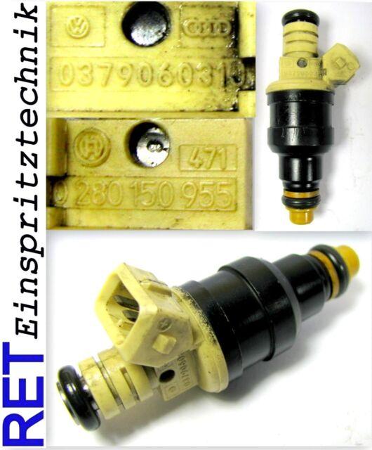 Buse d'injection Bosch 0280150955 VW Golf 3 Passat 037906031j nettoyés & examiné