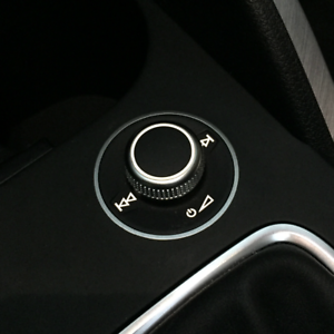Audi Q2 GA S-Line Dekor Lautstärkeregler Knopf Zierblende Aluminium Blende