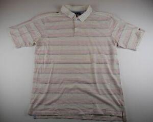 Tommy-Hilfiger-Herren-Poloshirt-Gr-XXL-creme-gestreift-S625