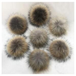 Faux-Fox-Fake-Fur-Hair-Huge-Ball-Fluffy-Pompom-Ball-Pendant-Key-Chain-Bag-Phone