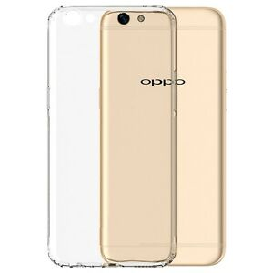 super popular cc703 a6b88 Details about Soft Gel Clear Transparent Case Cover For Oppo A77 + Screen  Protector