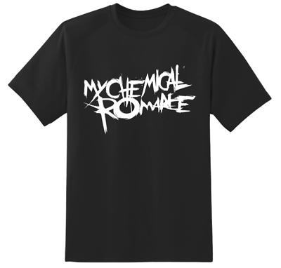 SHIRT TOP TEE  MUSIC BAND ROCK PUNK TOUR CONCERT MY CHEMICAL ROMANCE T