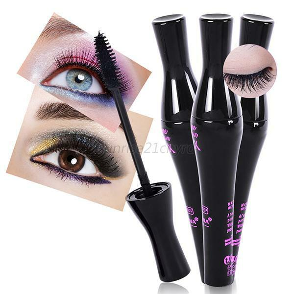 78acf5d5719 Natural 3d Fiber Waterproof Black Mascara Eyelash Long Curling Lashes  Extension for sale online | eBay