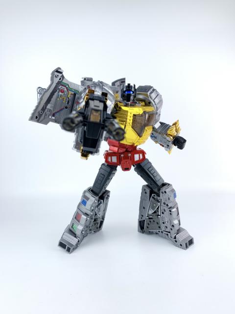Gigapower GP HQ-05R Transformers Darts Electroplated version Machine dinosaur