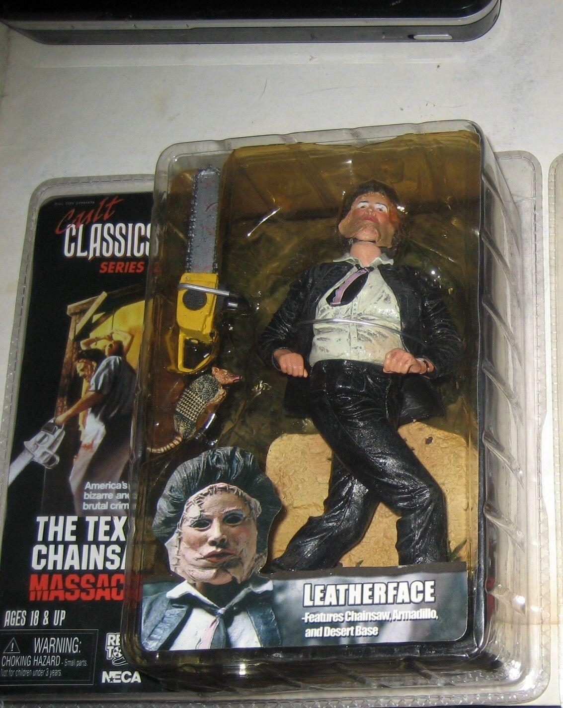 Kult - klassiker - reihe 2 texas chainsaw massacre leatherface 7  action - figur mip