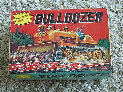 Bulldozer Series 3 Modern Toys Box Schachtel Package Made In Japan 60er Jahre Gesundheit Effektiv StäRken