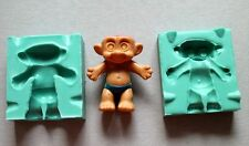 Silicone Mould 3D TROLL Sugarcraft Cake Decorating Fondant fimo mold