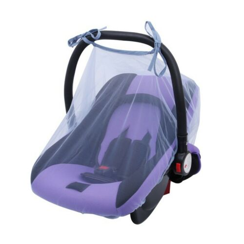 Baby Carseat Cover Mosquito Net Infant Insect Cover Pram Stroller Mesh Protector