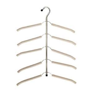 Multi Layer PP Material Non-slip Pant Slack Hangers Organizer Clothes Rack DT8